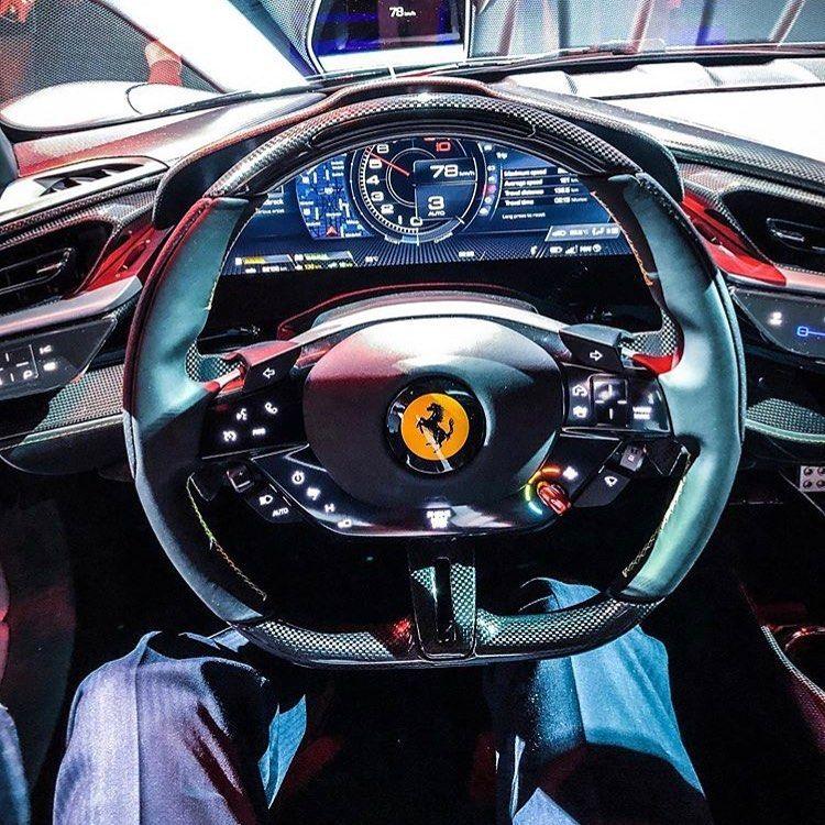 Ferraricarphoto On Instagram The Interior Of The Ferrari Sf90