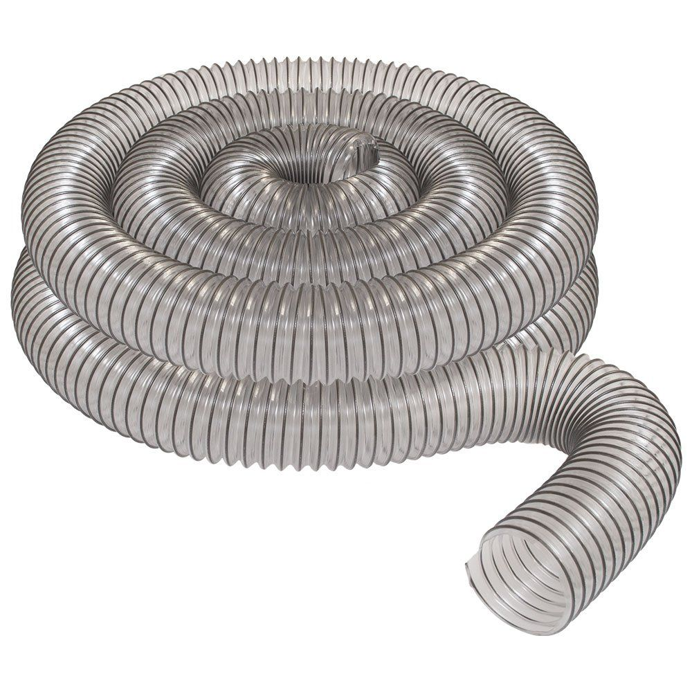 4 X 20 Clear Pvc Dust Collection Hose By Peachtree Woodworking Pw376 Want Added Details Click The Picture This Is An Affiliate Link Dust Collection Hose