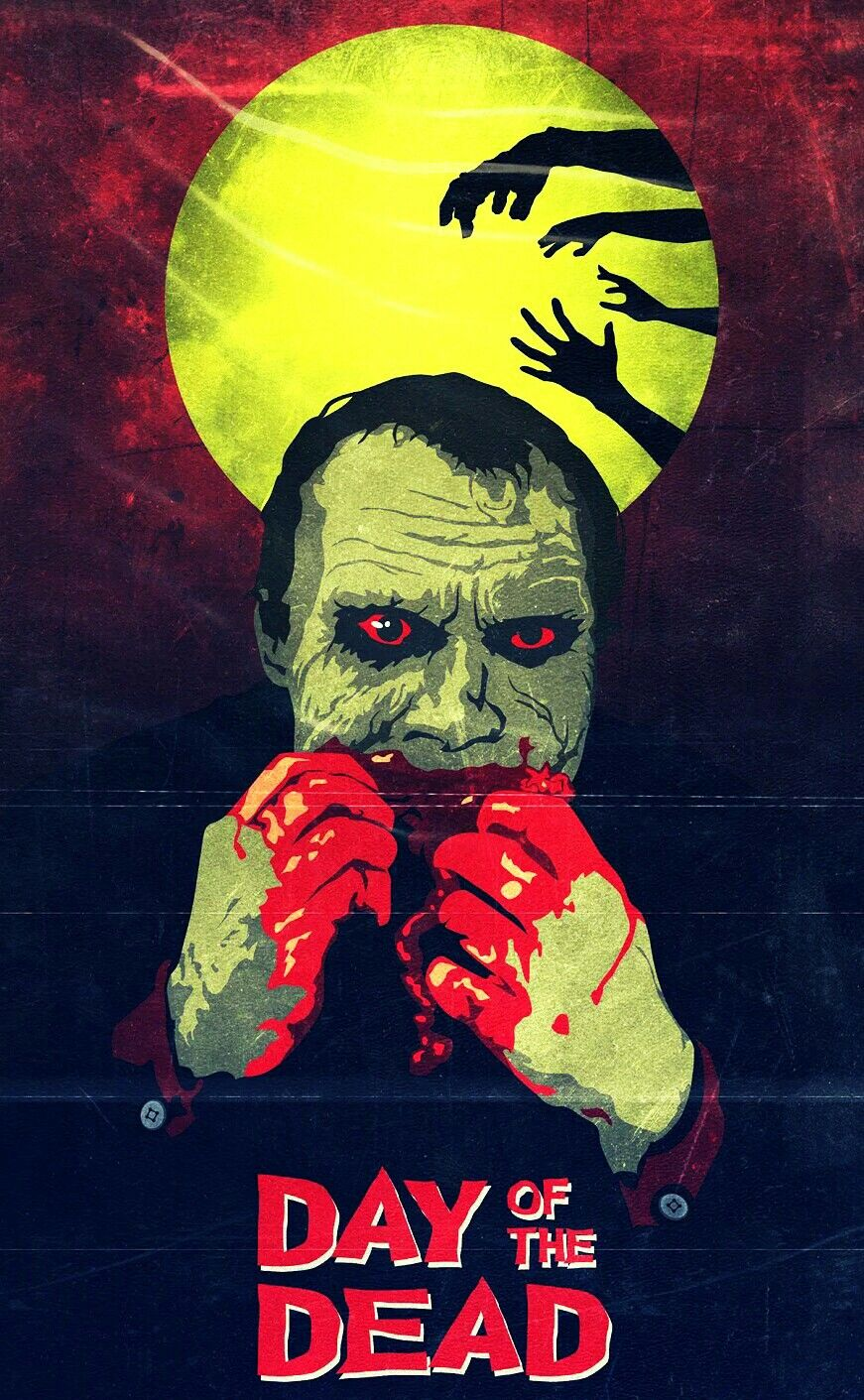 DAY OF THE DEAD (With images) Horror movie art, Scary