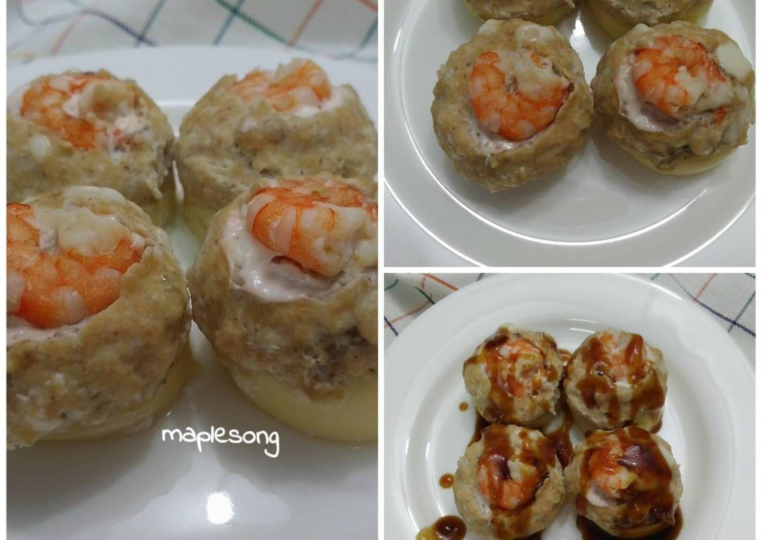 Resep Tofu Mushroom Saus Teriyaki Oleh Maplesong Resep Tahu Memasak Makanan