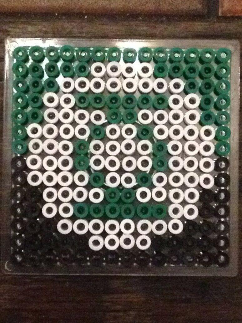 Green Lantern - Hama by murderdollsqueen