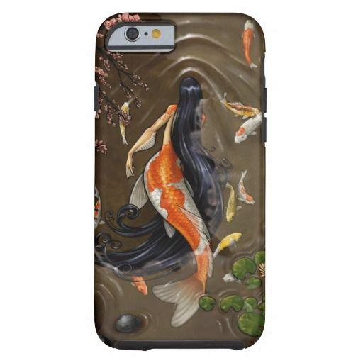 koi mermaid iPhone 6 case