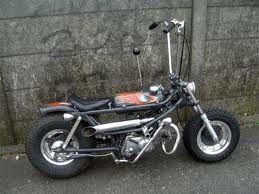 Pin By Rodney Broughton On Custom Mini Bikes Custom Moped Mini Bike Moped