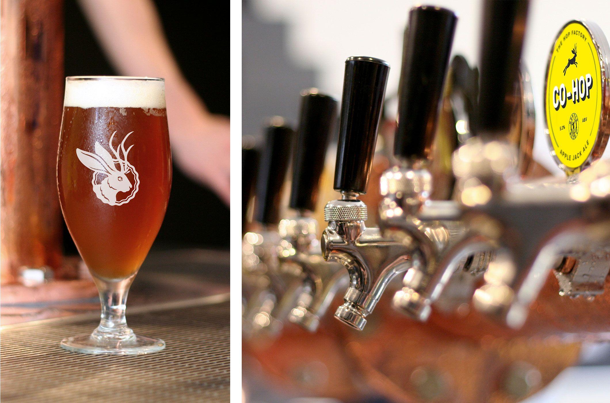 The Hop Factory Pennant Branding Design Melbourne Bar Beer Design Melbourne Bars Gourmet Recipes