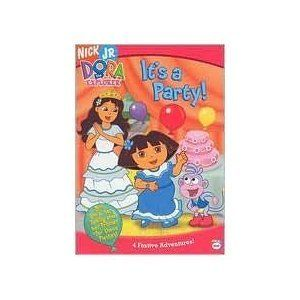 Dora The Explorer It S A Party Nickelodeon Dora The Explorer Dora Party