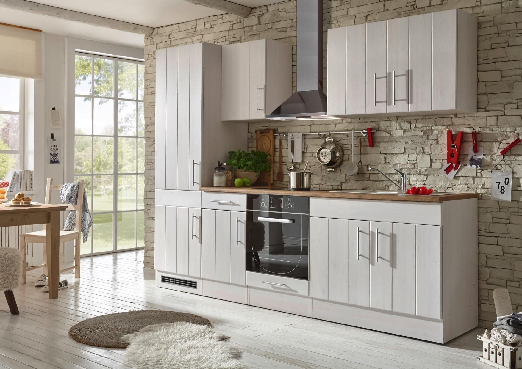 Küchenblock Im Skandinavischen Landhausstil: Zeitlos Schönes Design