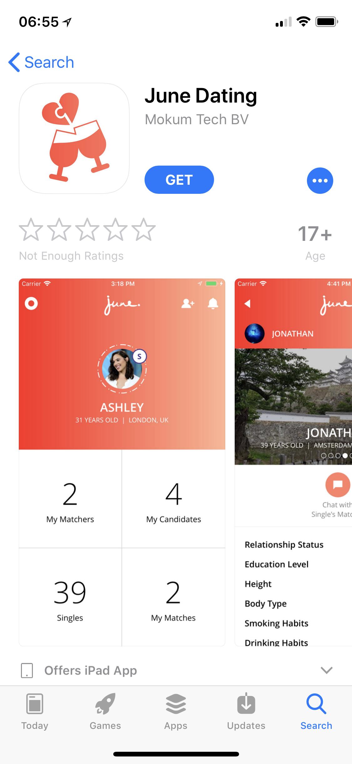 Alpha-Dating-App