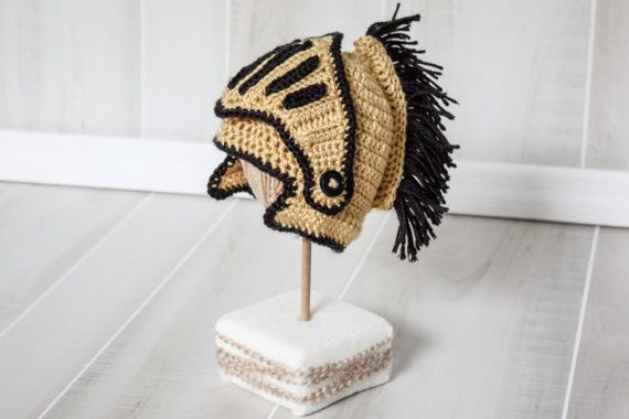 UCF Knights Hat  Baby Knightro. Newborn - 12 Months. Can make Adult as  well. on Etsy cb208017ddf