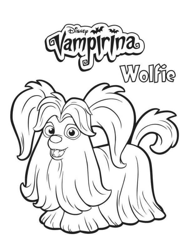 Vampirina Cupcake Topper Image