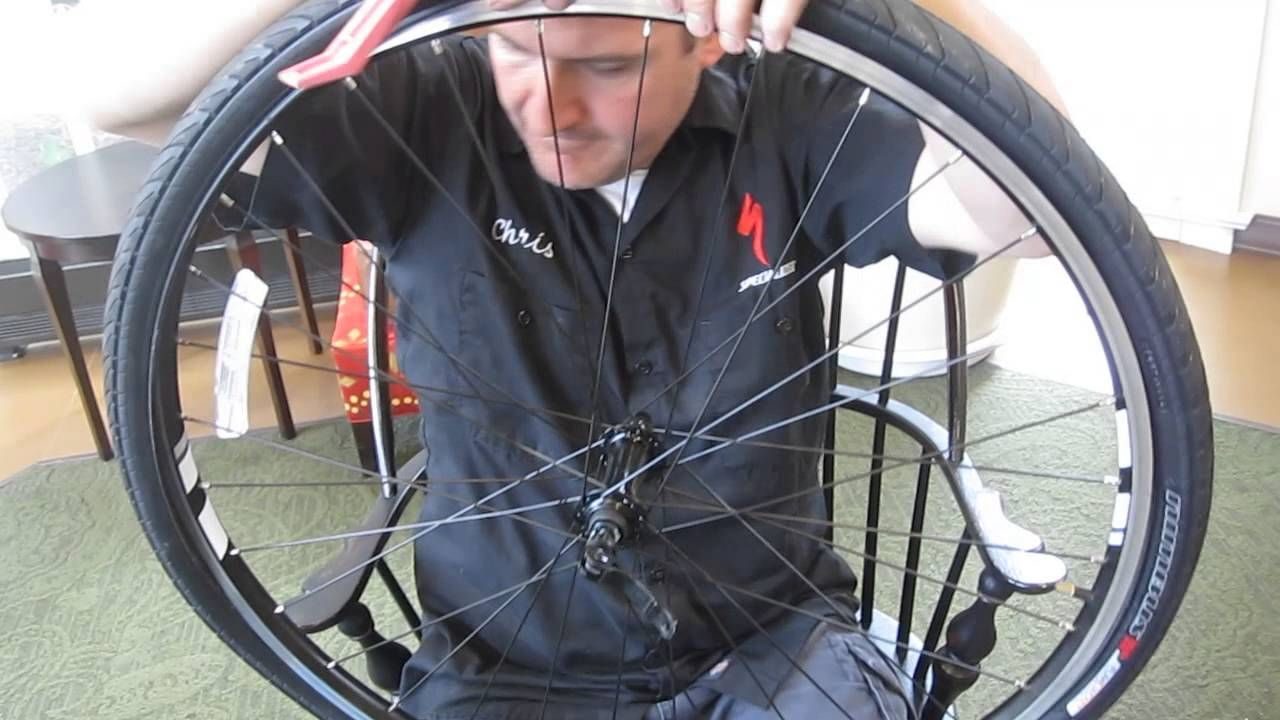 How to change a front flat bike tire in less than 5