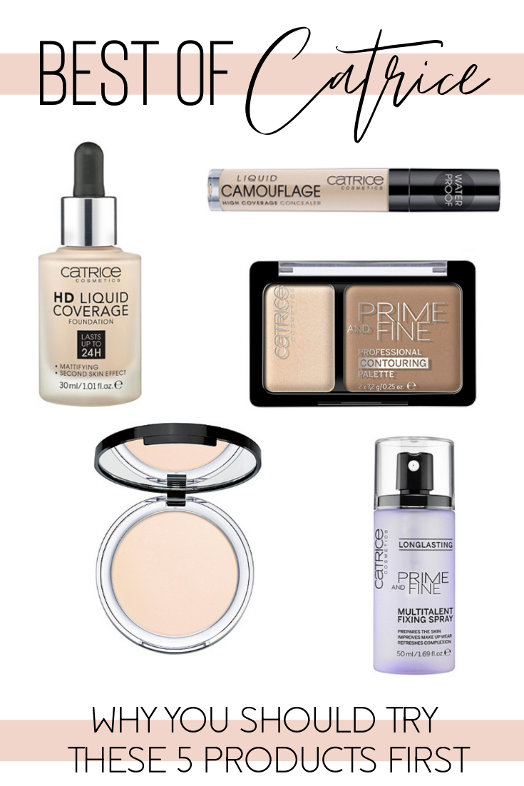 5 Best Beauty Products From Catrice Catrice makeup, Best