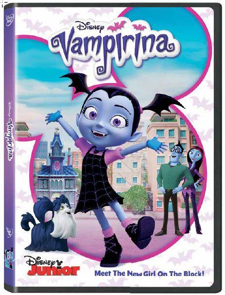Meet The New Girl On The Block Vampirina Comes To Dvd October 17 Disney Junior Disney Dvd