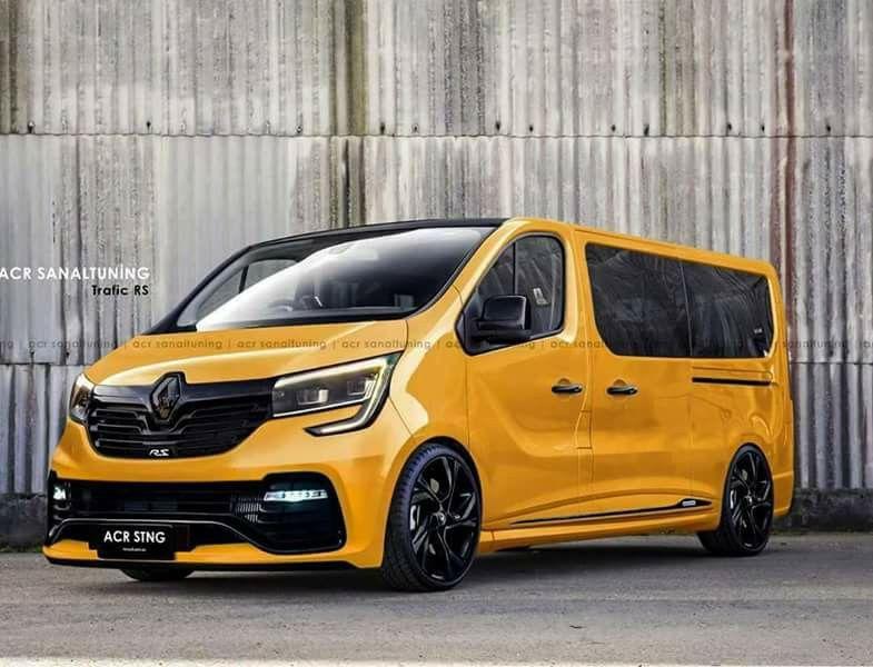 8398688071 Renault Sport Trafic Van Signage