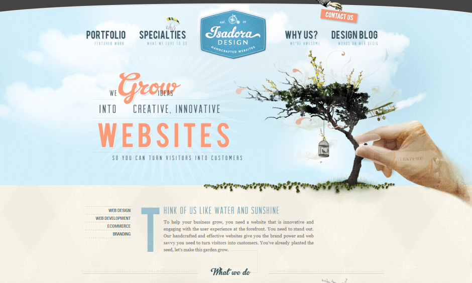 Isadora Design | Best Web Design Firms | 10 Best Design