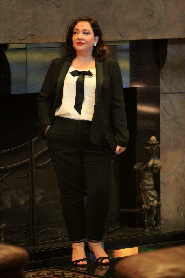 3a5f7e147627f plus size womens tuxedo on Wardrobe Oxygen
