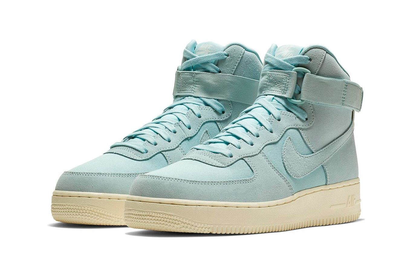 innovative design cfffe 91483 Nike's Air Force 1 High Gets a Tonal Suede Upgrade, 2019 ...
