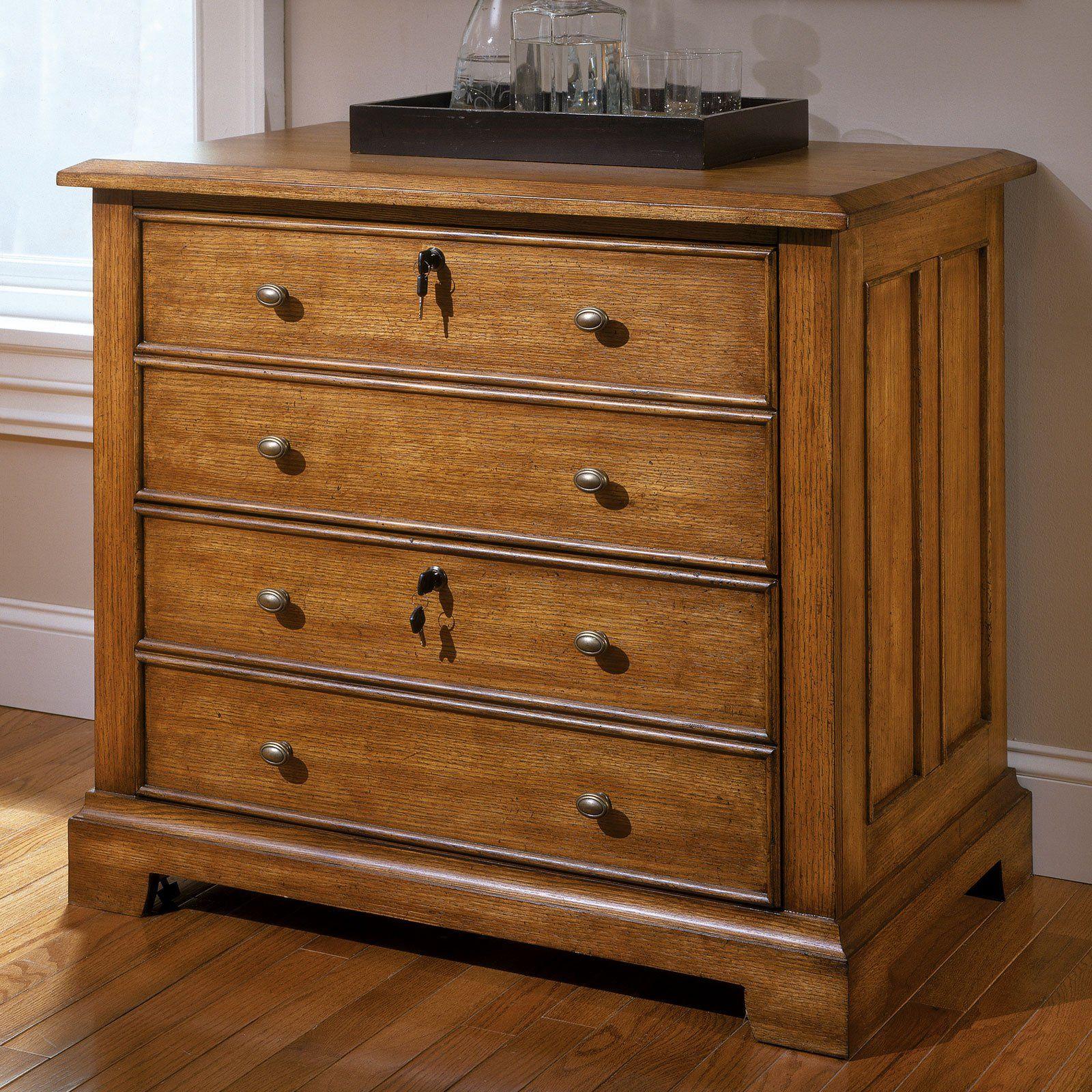 Marvelous Riverside Woodlands Oak Locking Lateral File Cabinet From Home Remodeling Inspirations Genioncuboardxyz