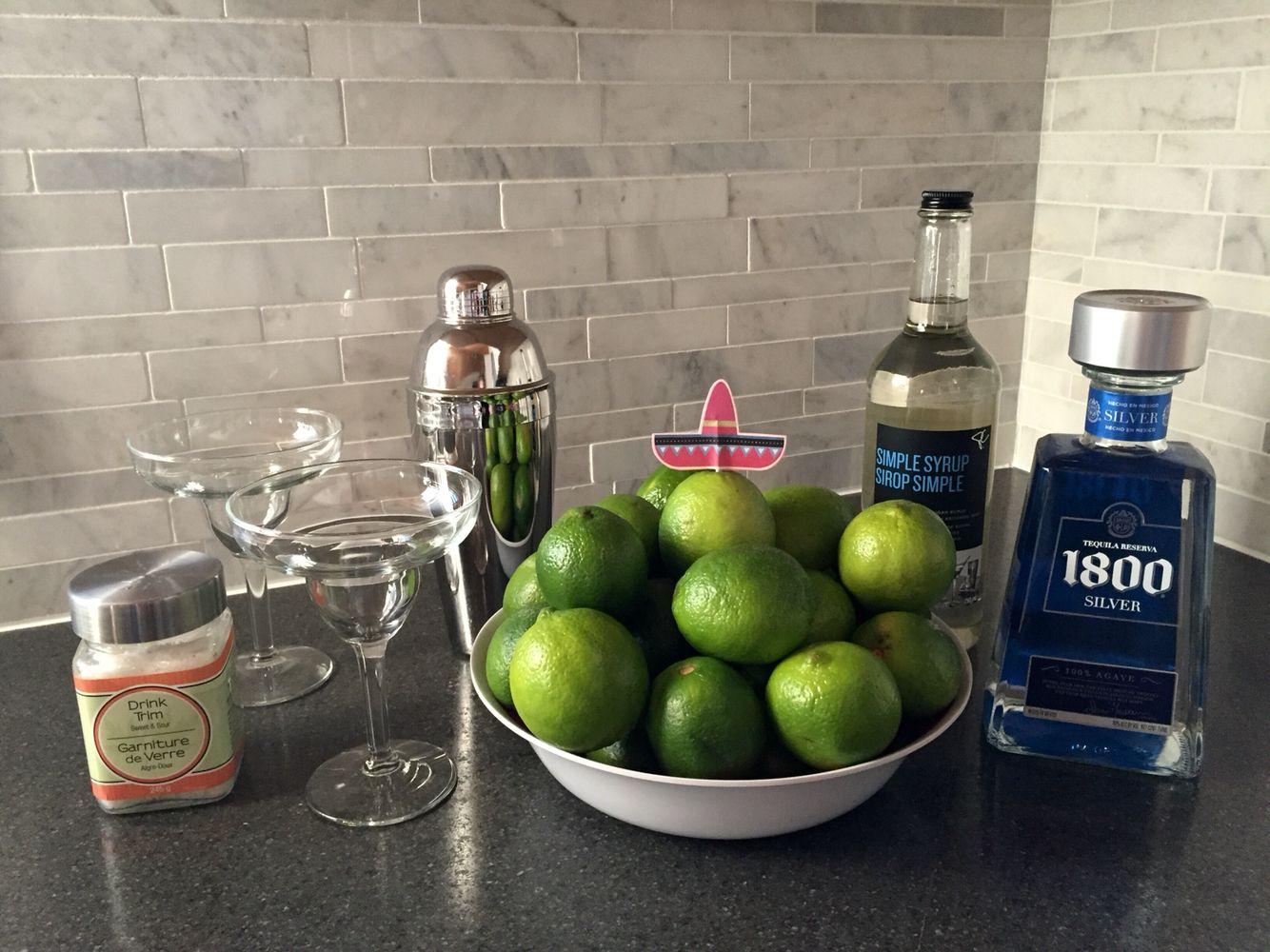 Holiday Fiesta! Gotta have margaritas! Fresh limes :)