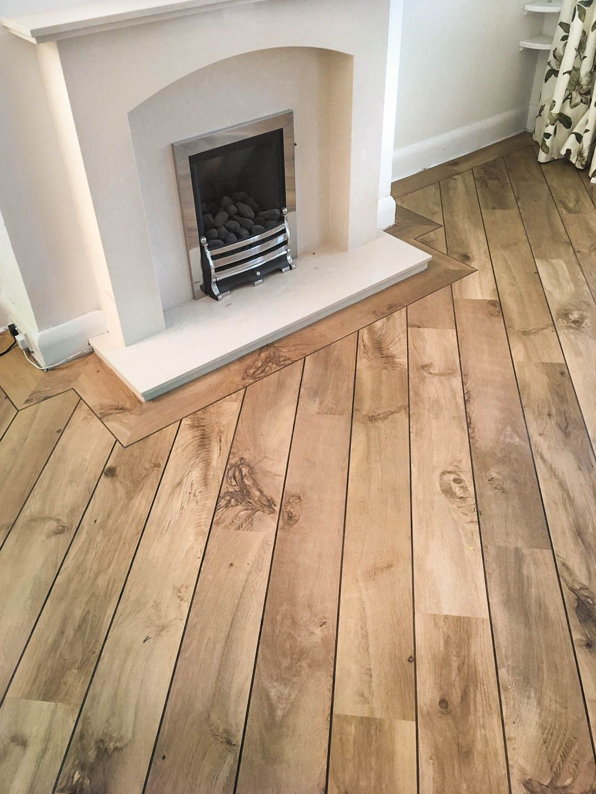 Recently Completed Living Room With Karndean Designflooring Van Gogh Range Install With A Ship Deck Effect And A 5m Flooring House Flooring Vinyl Wood Flooring
