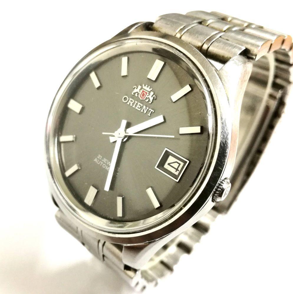 Reloj caballero ORIENT AUTOMATIC 21 JEWELS Original Vintage cal ORIENT 1746 3eed73e3762b