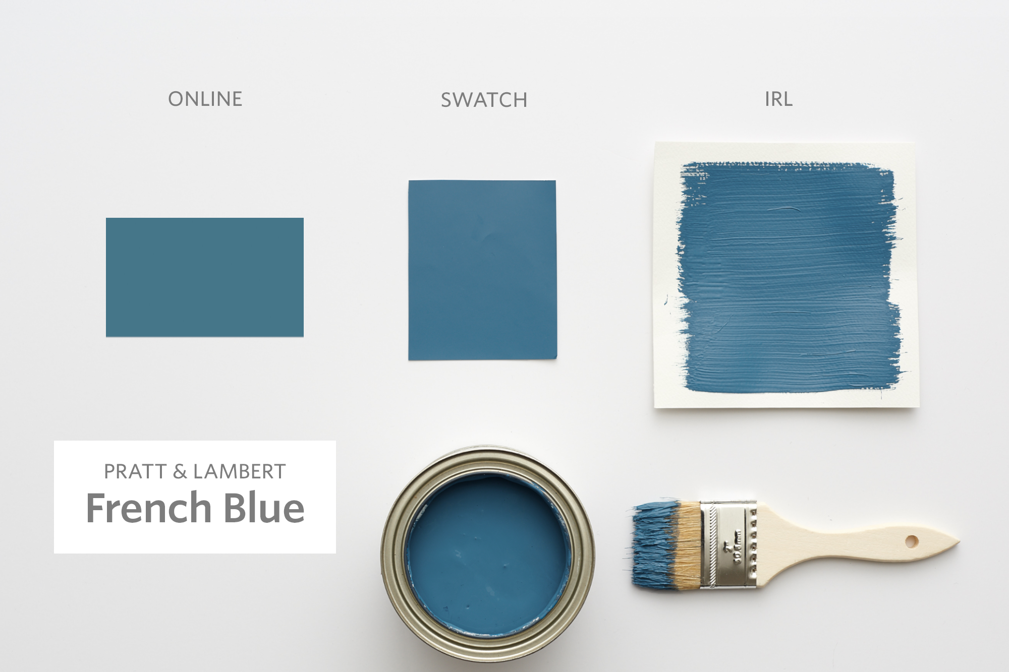 Color Cheat Sheet The 21 Most Perfect Blue Paint Colors For