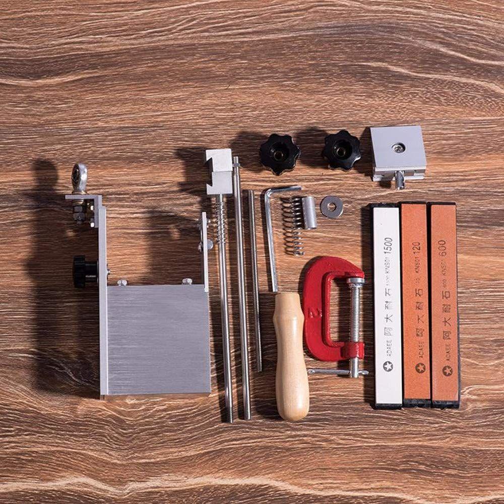Knife Sharpener Tool With 3 Whetstone 360 Degree Rotation Fixed Angle Easy Click Photo To Assess Blade Sharpening Kitchen Knife Sharpening Knife Sharpening