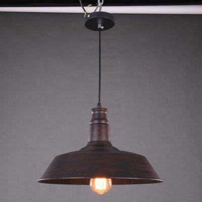 Rustic Style E27 Pot Cover Pendant Lamp Holder #ledlighting #led #lighting #light #ledlights