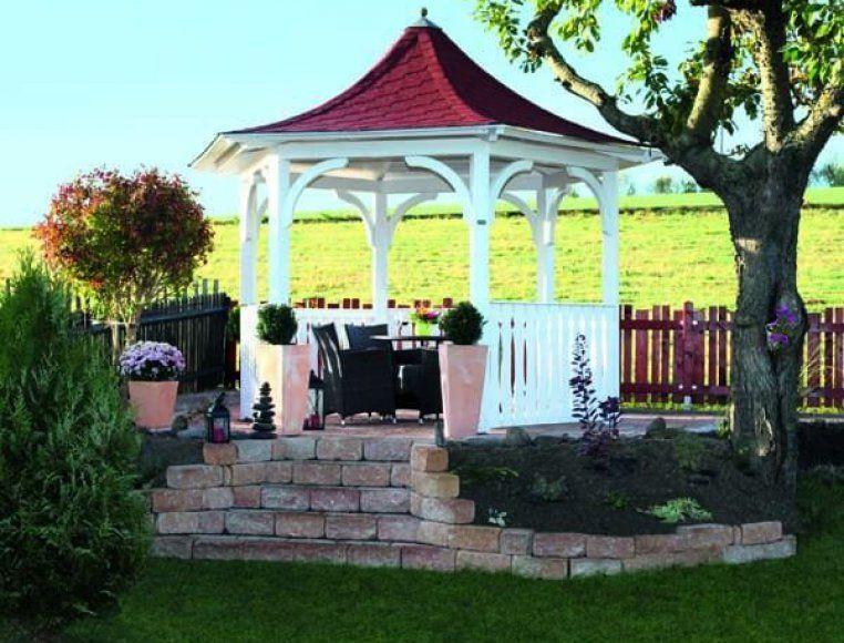 Simple Gartenpavillon Versailles