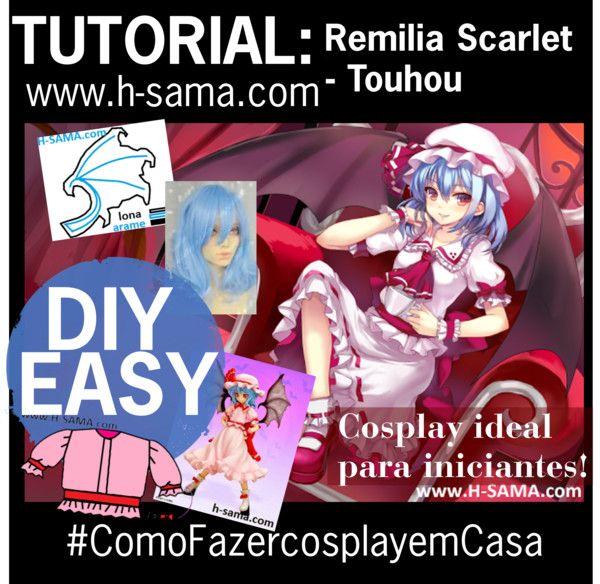 COMO FAZER? cosplay Remilia Scarlet ( レミリア・スカーレット) - Touhou