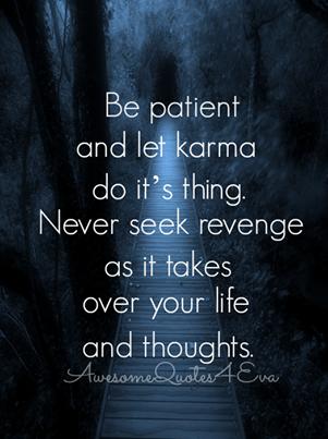 Before You Seek Revenge