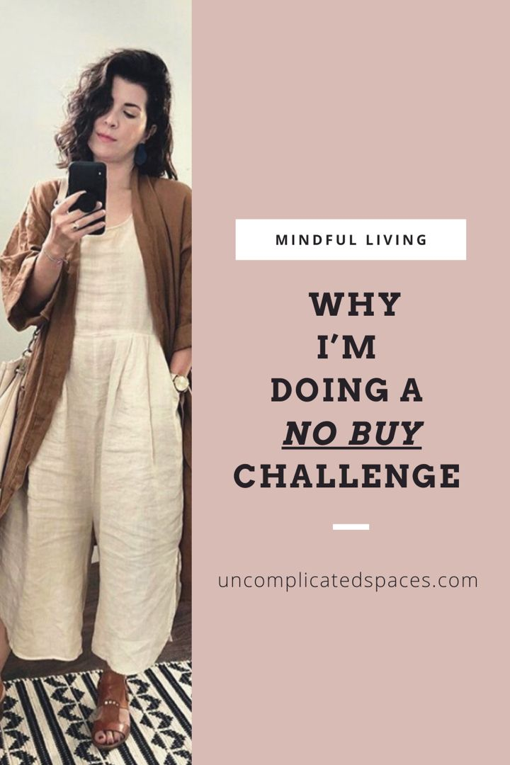 A no buy challenge is great for getting a handle on spending! Especially when it comes to clothes! #nospend #nospendchallenge #nospendmonth #consciousconsumer #shopaholic #shoppingaddict #shoppingtips
