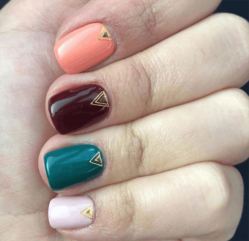 15 Trending Nail Color Combos to Try in 2018 | Pinterest | Nail ...