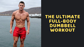 Gym Workout: The Ultimate Full-Body Dumbbell Workout #dumbbellexercises