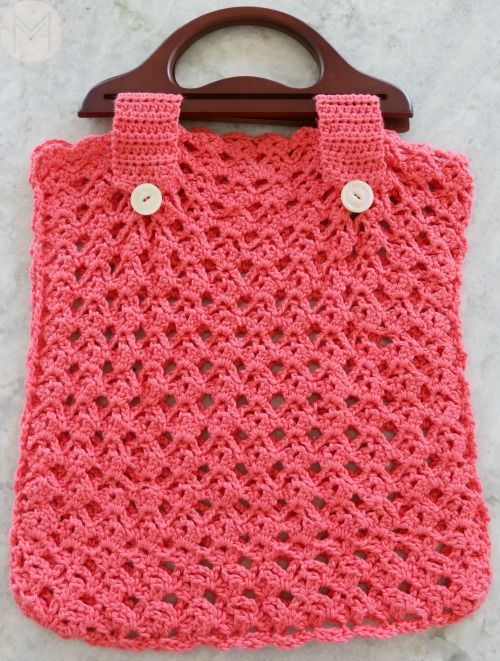 Lacy Beach Bag Crochet Tutorial - | Crochet bags / Bosses de ganxet ...