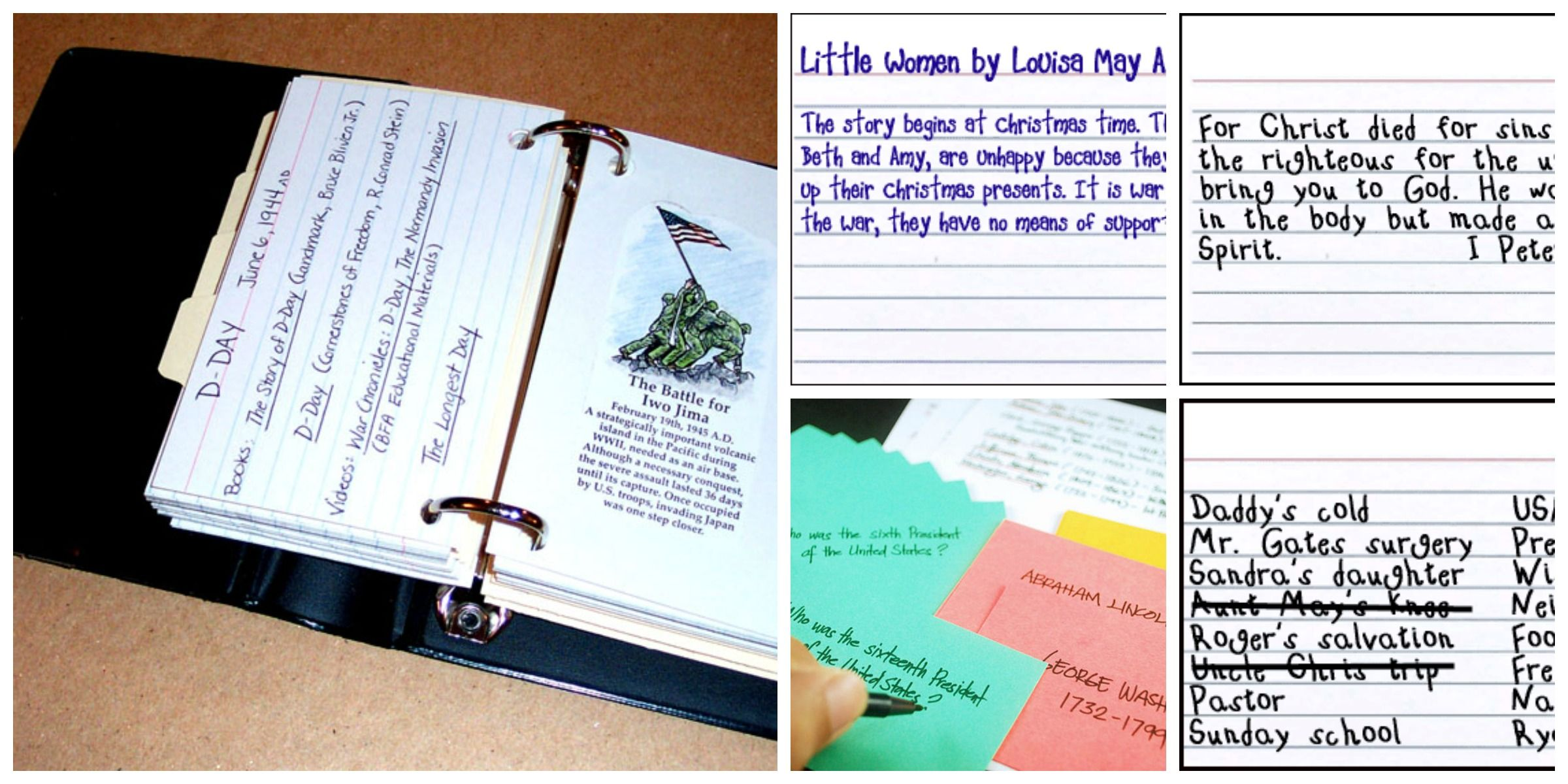10 Super Index Card Ideas For Homeschool Note Card Template Homeschool Index Cards