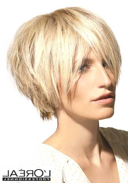 Stufiger haarschnitt damen