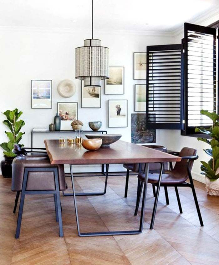 Casual Dining Room Decor Ideas: 10 Alluring Dining Room Wall Décor Ideas