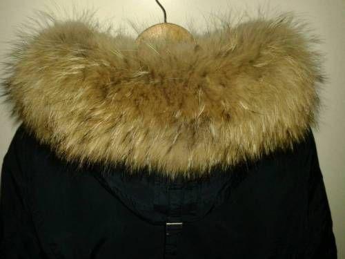 Woolrich mantel mit fell