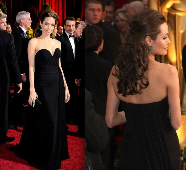 Celebrity Prom Inspiration 2010 Angelina Jolie In Elie Saab Celebrity Prom Dresses Prom Inspiration Sweetheart Dress