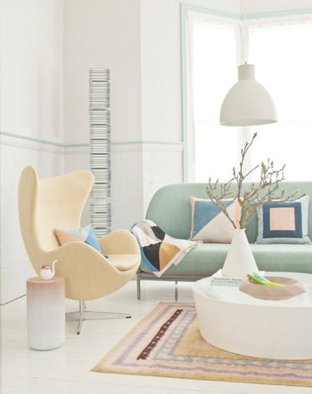 Pretty pastels interior design inspiration