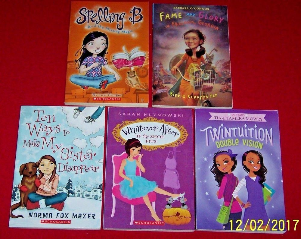 5 Girls 3rd 4th 5th Grade Chapter Books Level 4 Twintuition