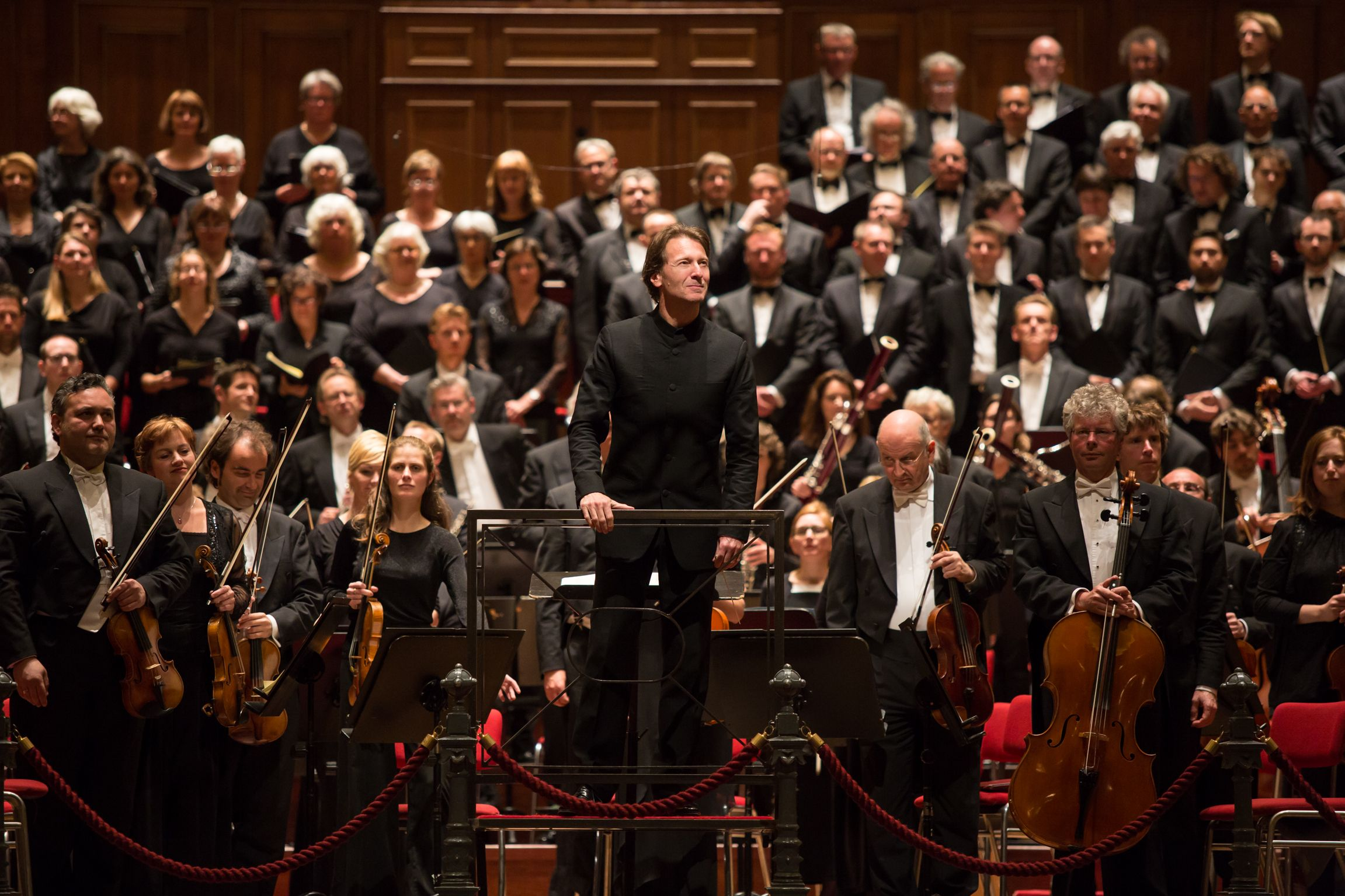 Marc Albrecht and the Netherlands Philharmonic Orchestra played Berlioz Requiem at the Concertgebouw Amsterdam