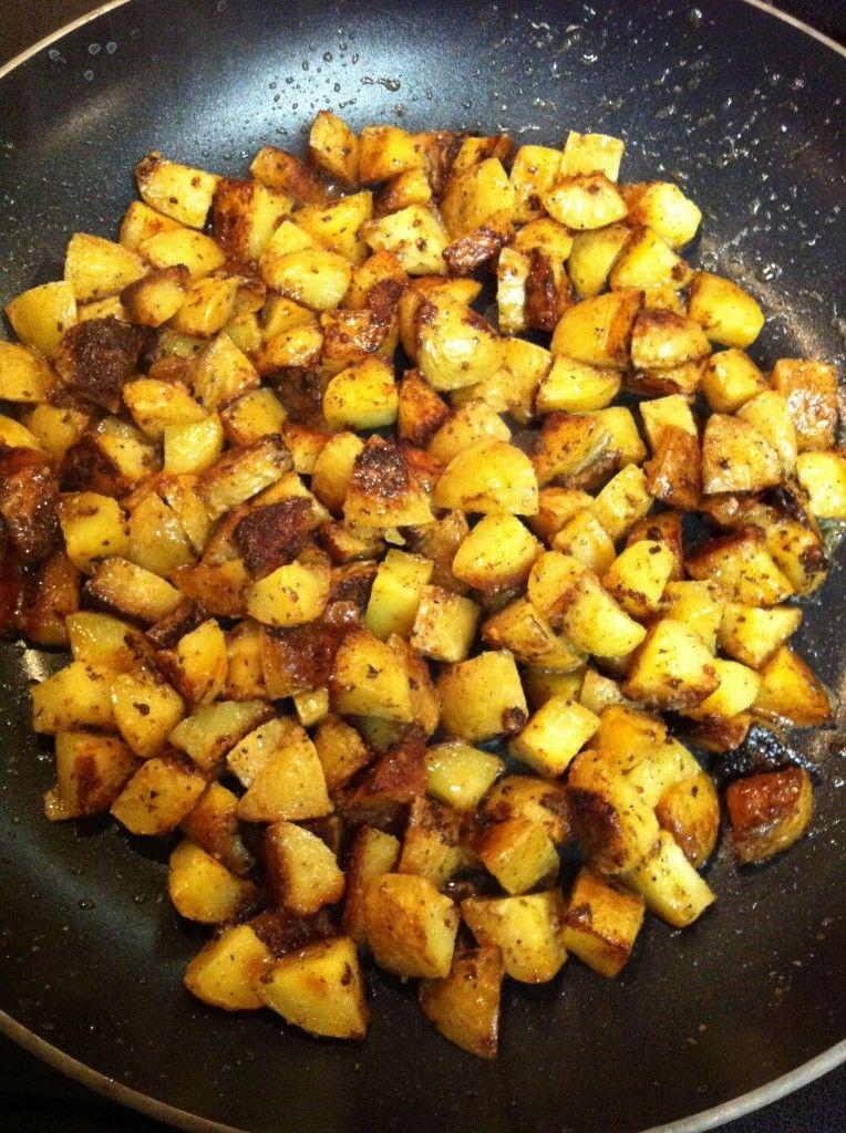 Potatoes Hashed in Cream – Easy Potato Recipes