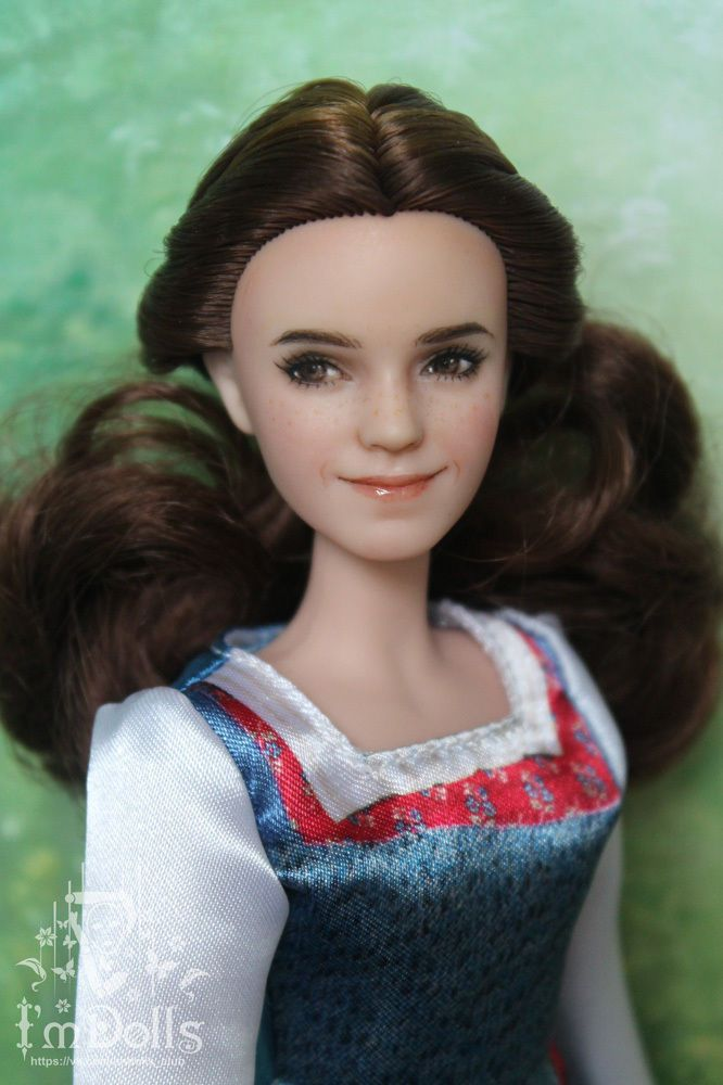 1 6 OOAK Disney Beauty And The Beast Emma Watson Doll Custom Repaint By I