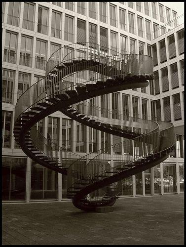 Never Ending Spiral Staircase Cool Photos Spiral Staircase