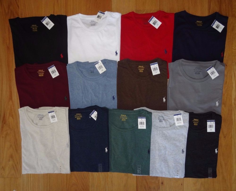 10d41f649 STANDARD FIT CREW-NECK t-shirt(s) designed by Polo Ralph Lauren. The two  primary countries the shirts are manufactured in are Indonesia   China. 21.