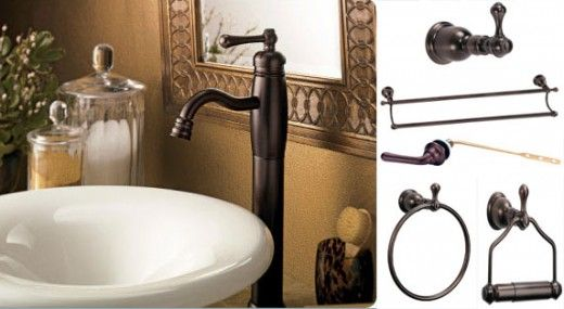 Collection Of Oil Rubbed Bronze Bathroom Accessories With Oil - Cheap bronze bathroom faucets for bathroom decor ideas