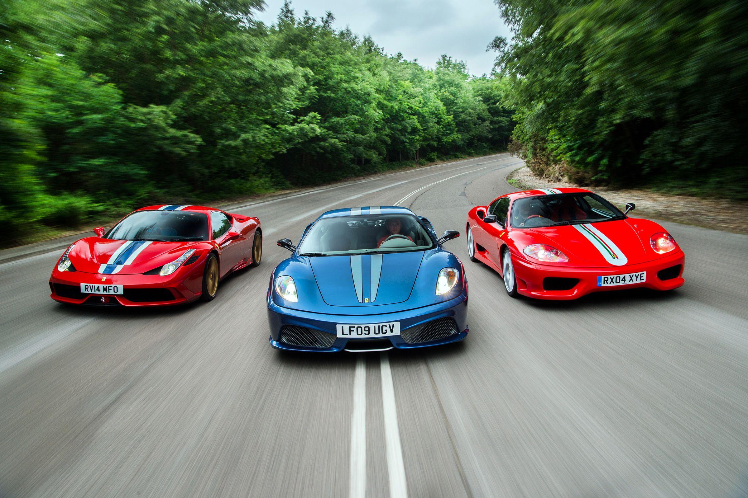 Ferrari Lightweight Specials 458 Speciale Vs 430 Scuderia Vs 360