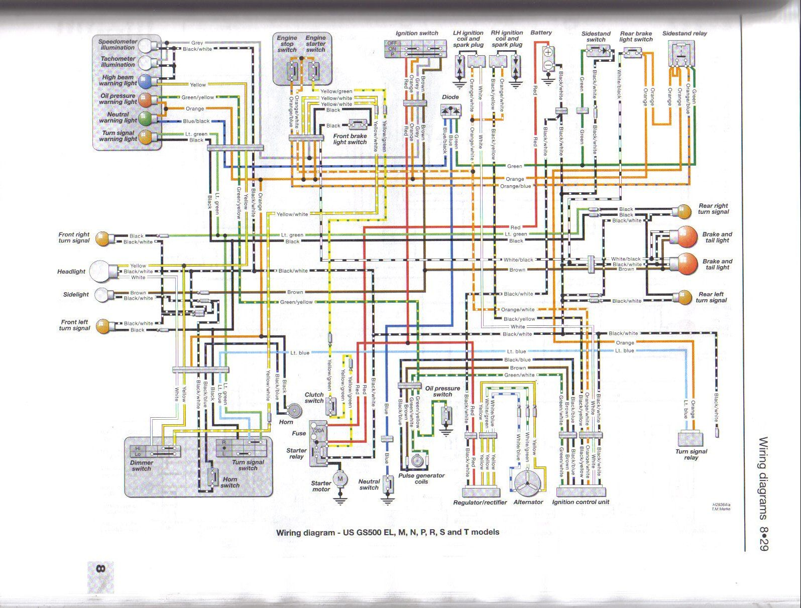 i liked this pic www suzukigs500 co uk suzuki gs500 pinterest rh pinterest com 1981 suzuki gs 450 wiring diagram Suzuki GS400 Wiring-Diagram