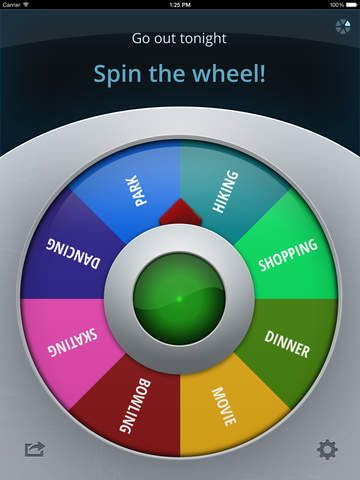 SPIN THE WHEEL APP! Never mind popsicle sticks in the